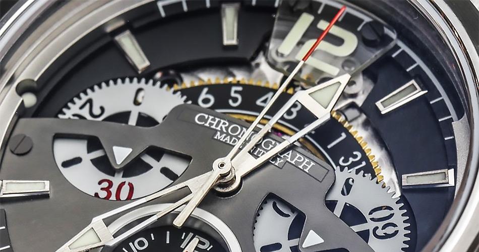 Swiss chronographs